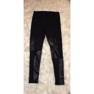Pants - Black Moto Leggings sz M